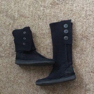 Tall knit ugg boots!